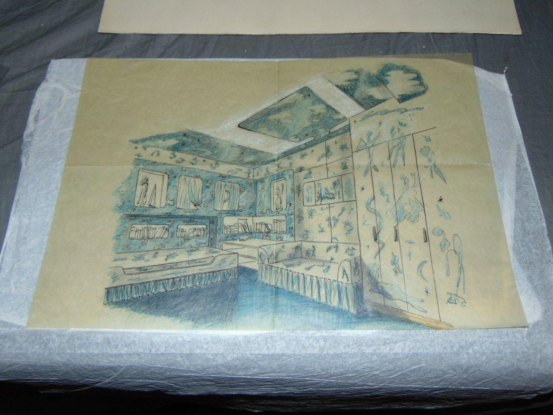 Piero Fornasetti. Andrea Doria Illustrations. - 2