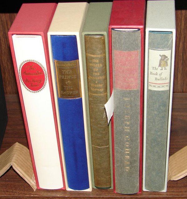 1010: LOT OF 5 LIMITED EDITION CLUB BOOKS