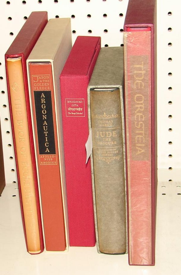 1017: LOT OF 5 LIMITED EDITION CLUB BOOKS