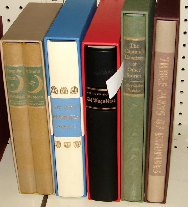 1019: LOT OF 5 LIMITED EDITION CLUB BOOKS