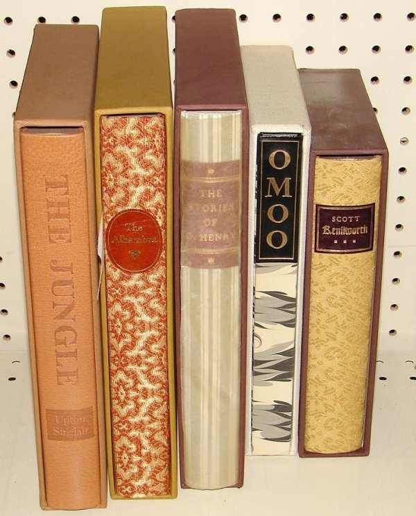 1020: LOT OF 5 LIMITED EDITION CLUB BOOKS