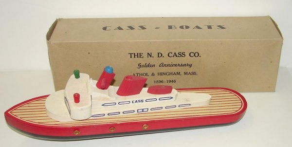2023: 1950'S CASS WOODEN BOAT