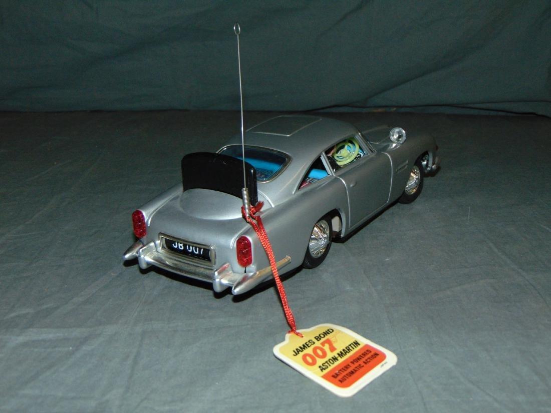 1965 Boxed Gilbert B/O James Bond Aston Martin - 4