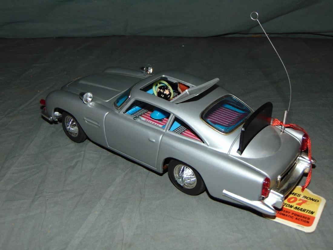 1965 Boxed Gilbert B/O James Bond Aston Martin - 5