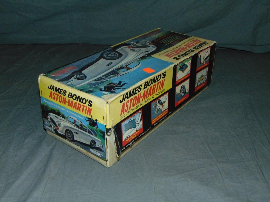 1965 Boxed Gilbert B/O James Bond Aston Martin - 9