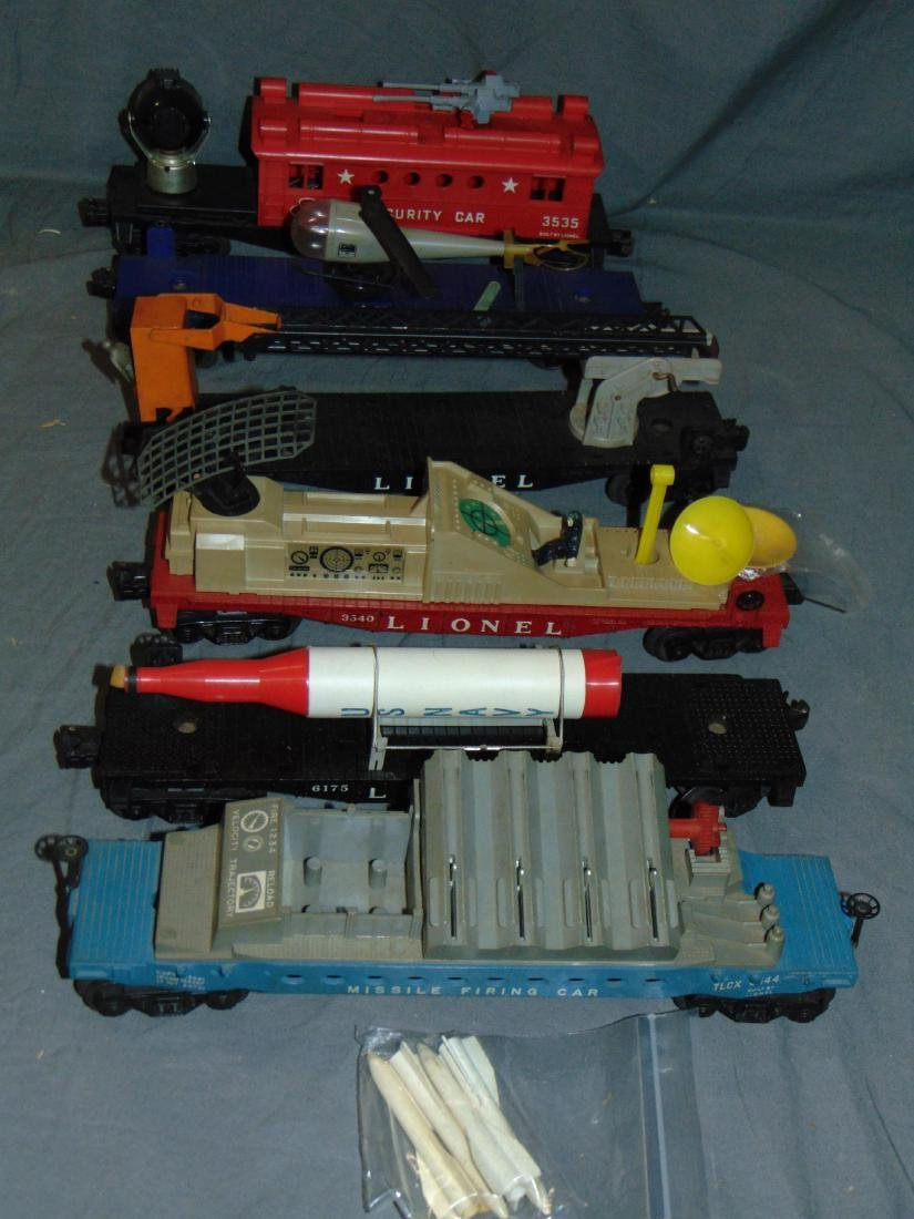 Lot of Lionel Military Freight  Cars