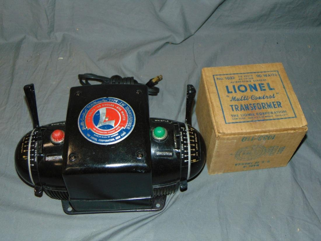 Lot of 2 Lionel Transformers