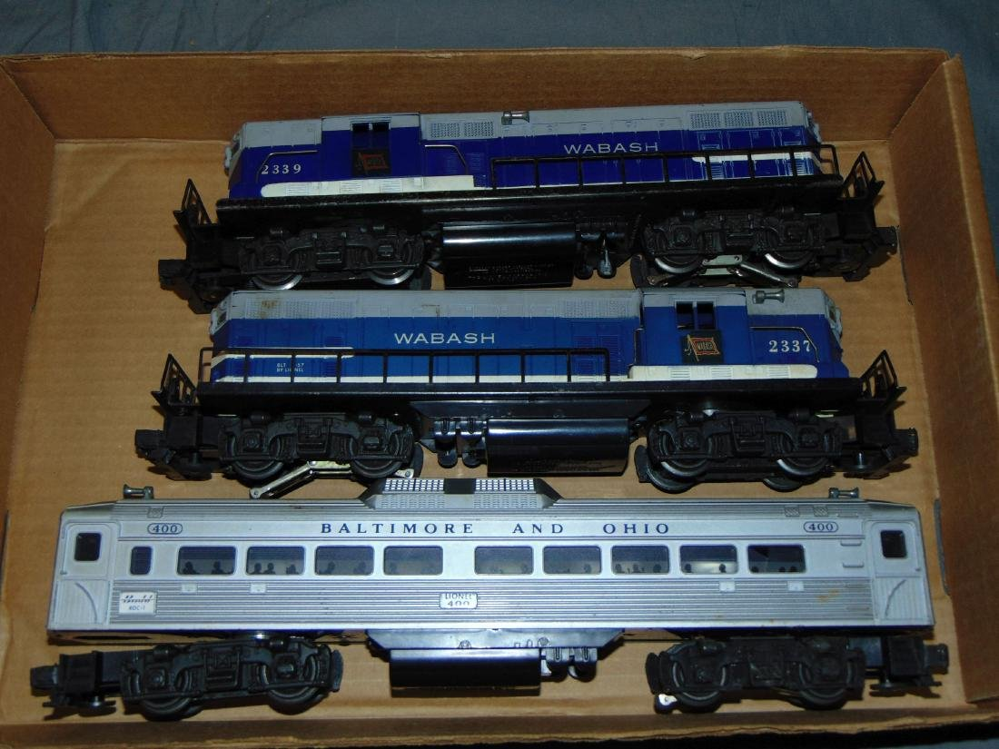 Lot of 3 Lionel Diesel Engines