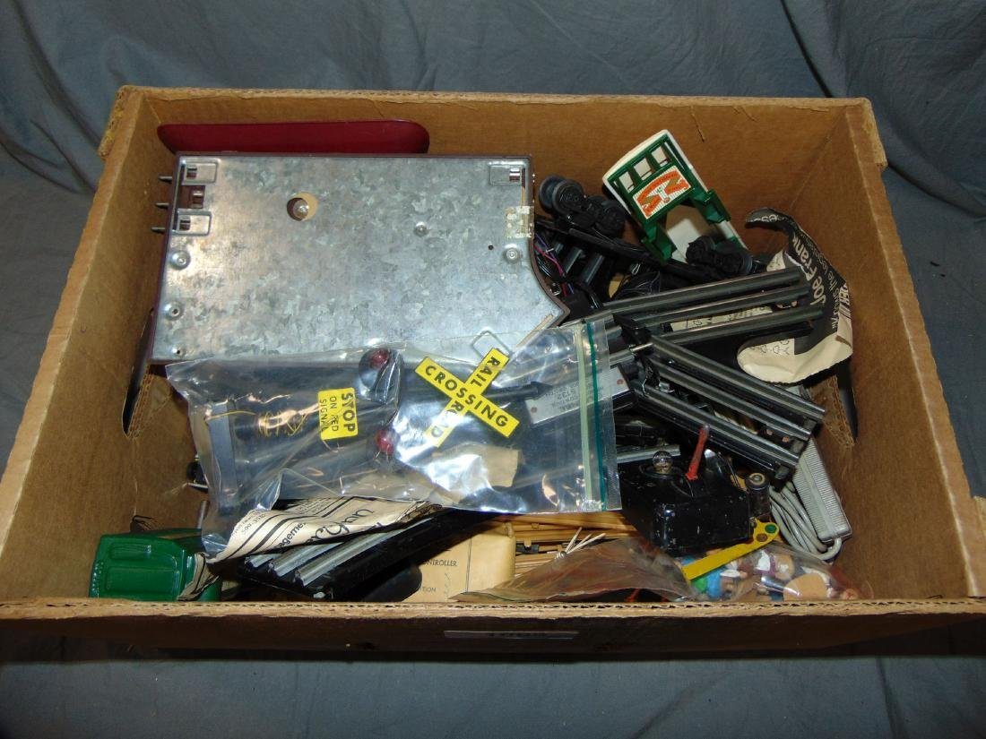 Lot of Lionel Switches, Parts and More