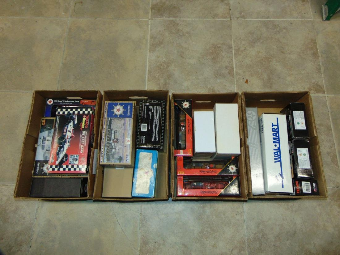 Large Lot of Texaco Metal & Diecast Vehicles