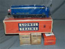 Lionel Lot of Steam  Diesel Locomotives