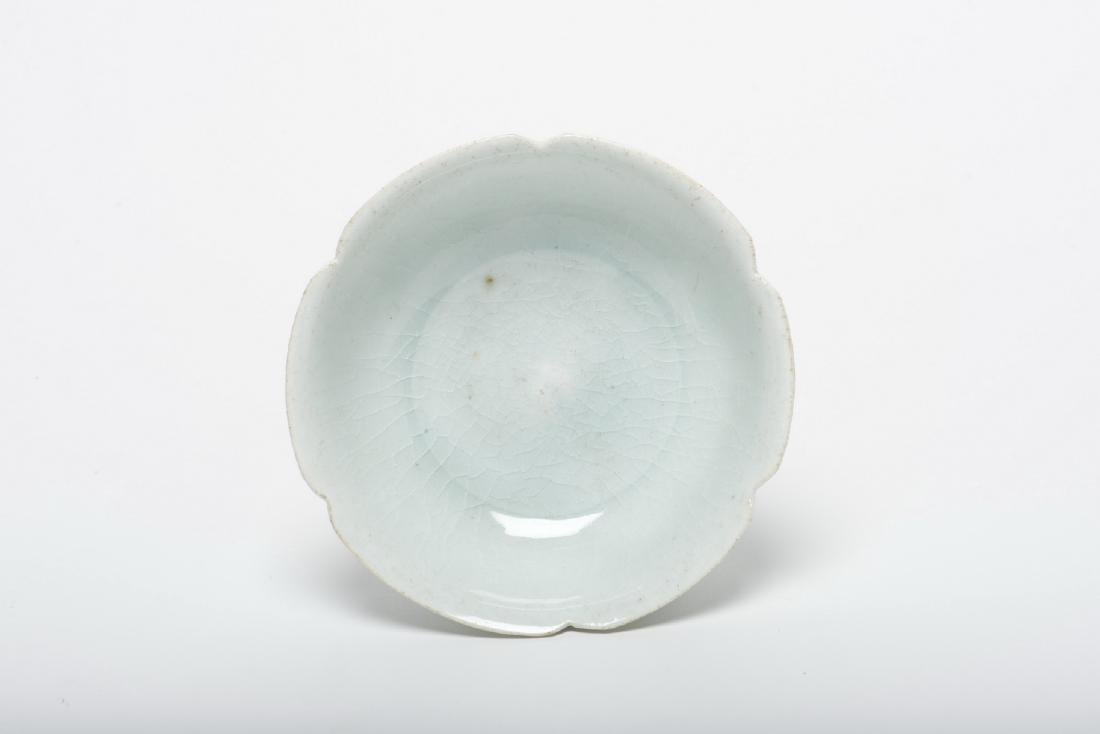 A Ying Qing Petal-Form Tea Bowl, Song Dynasty - 2