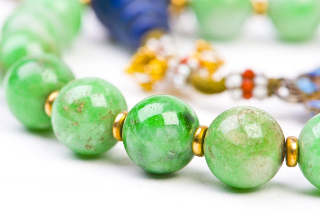 Jadeite Prayer Beads Strand - 2