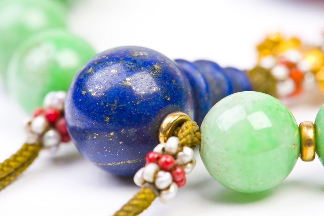 Jadeite Prayer Beads Strand - 3