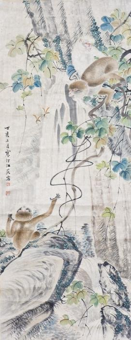 Chinese Painting, Ink and Color on paper