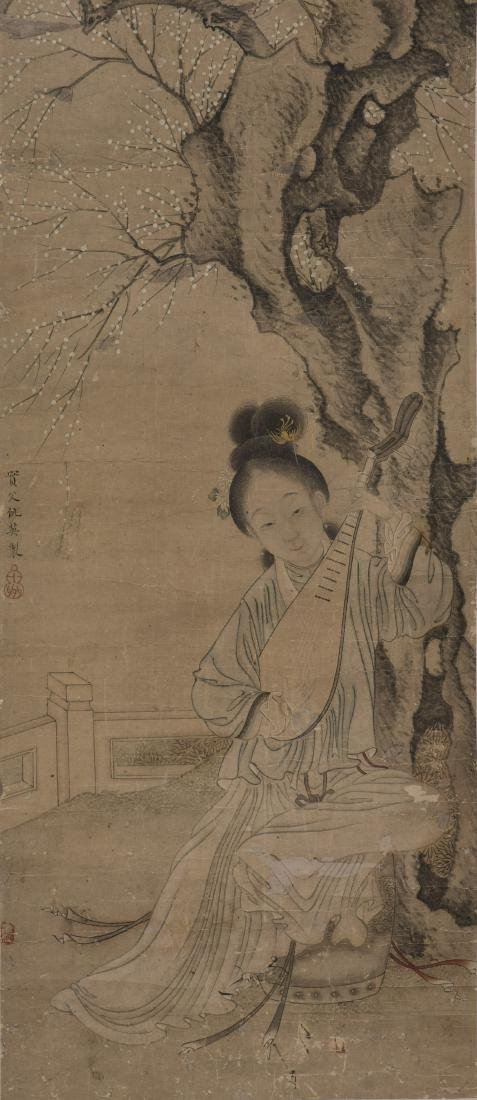 QIU YING (ATTRIBUTED TO, CIRCA 1495-1552), BEAUTY