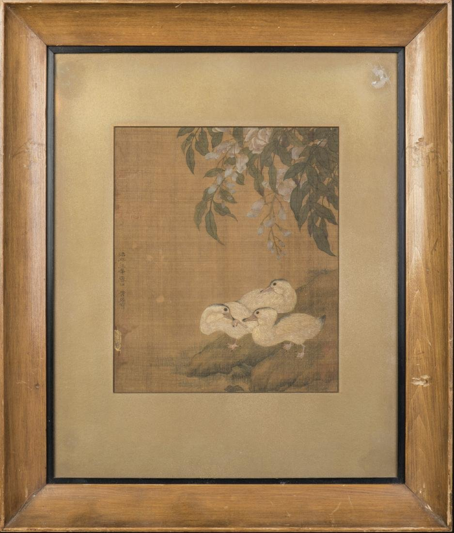 HUANG JUCAI (ATTRIBUTED TO,1174-1224), THREE DUCKS