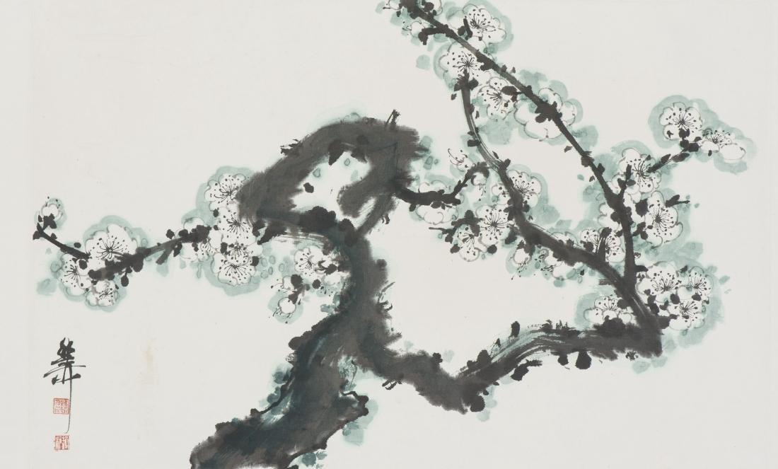 XIE ZHILIU (ATTRIBUTED TO,1910-1997), PLUM BLOSSOM