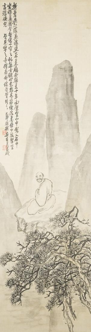 WU CHANGSHOU (1844-1927), LUOHAN