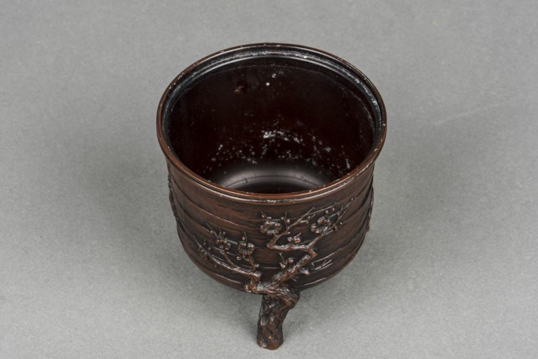 A JAPANESE BRONZE CENSER, 20TH CENTURY - 2