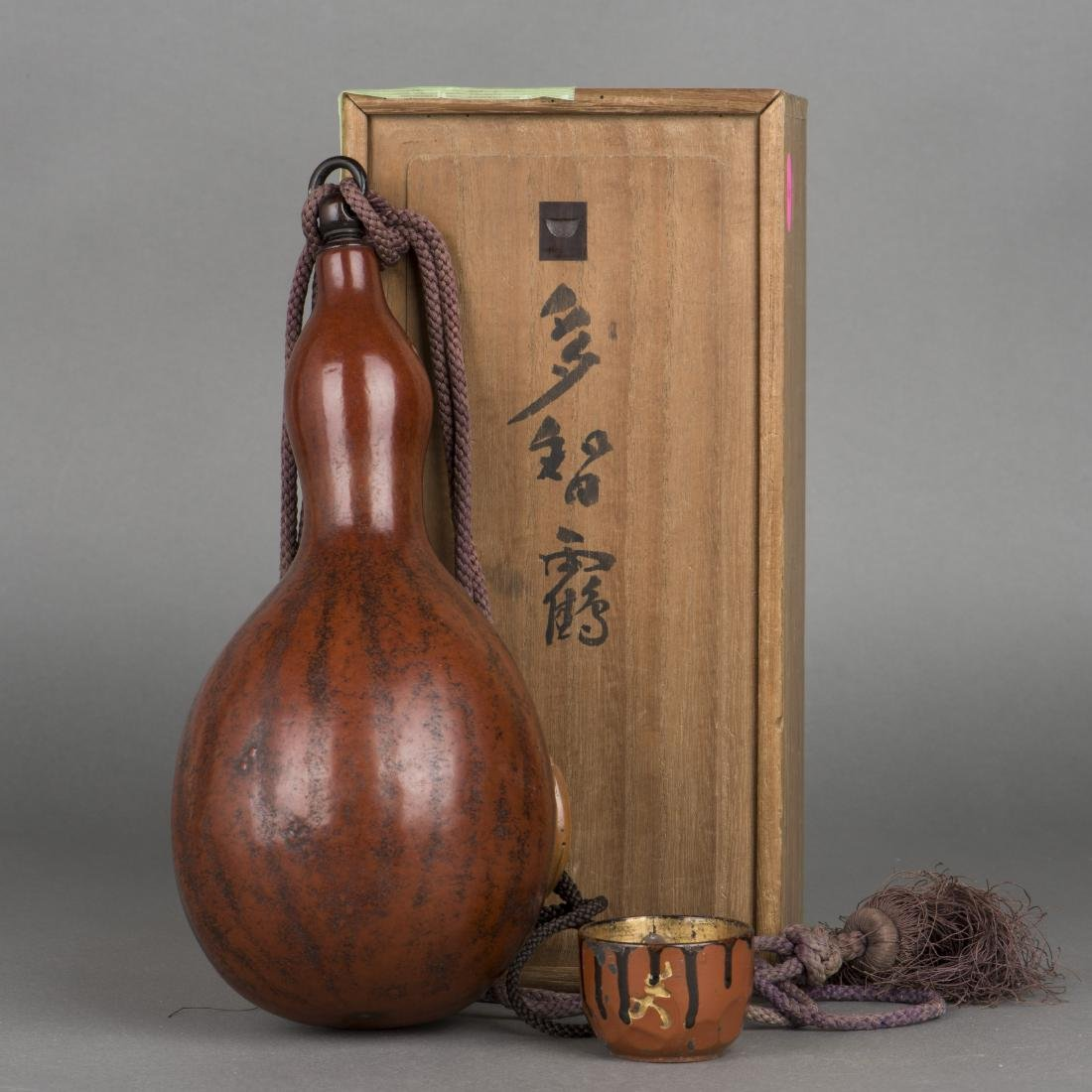 A JAPANESE GOURD, 19TH CENTURY