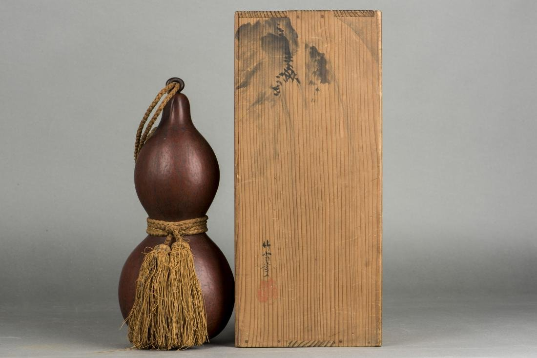 A JAPANESE GOURD, 18TH CENTURY