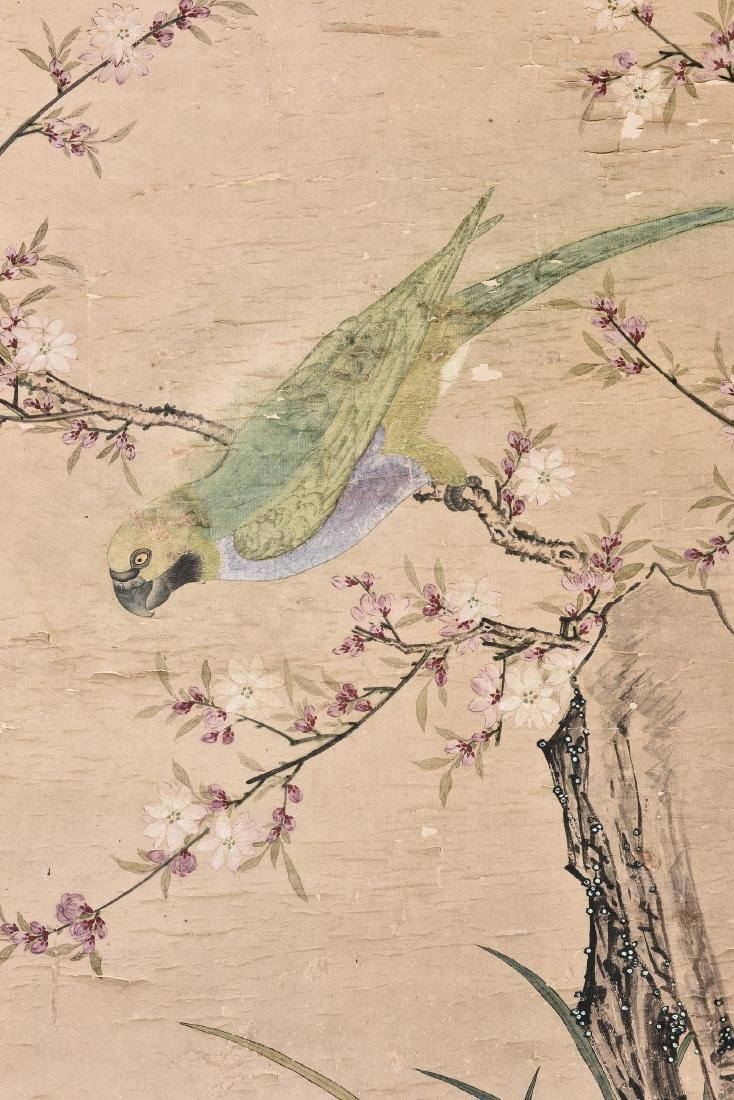 CHOU YING (STYLE OF, 1494-1552), FLOWER - 2