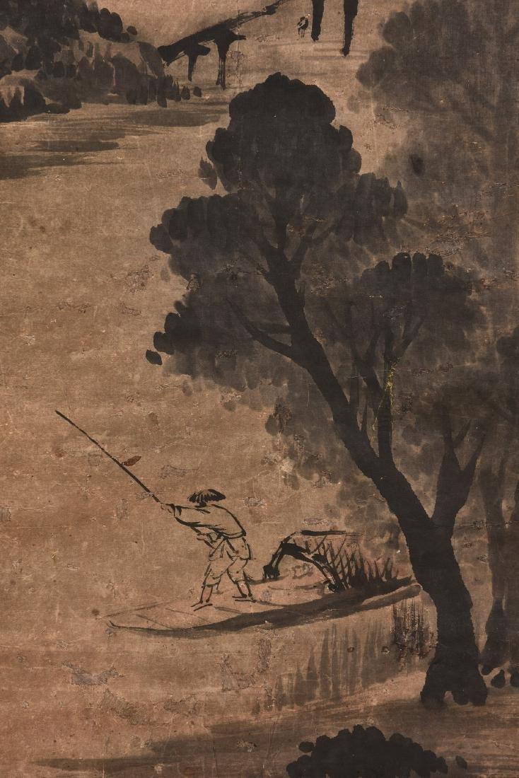 WU SHIXIAN (1845-1916), LANDSCAPE - 2