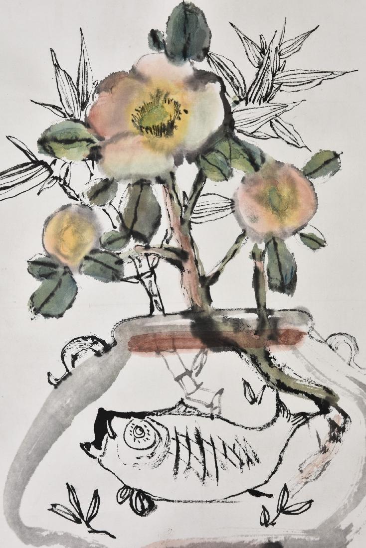 CHENG SHIFA (1921-2007), FLOWERS - 3