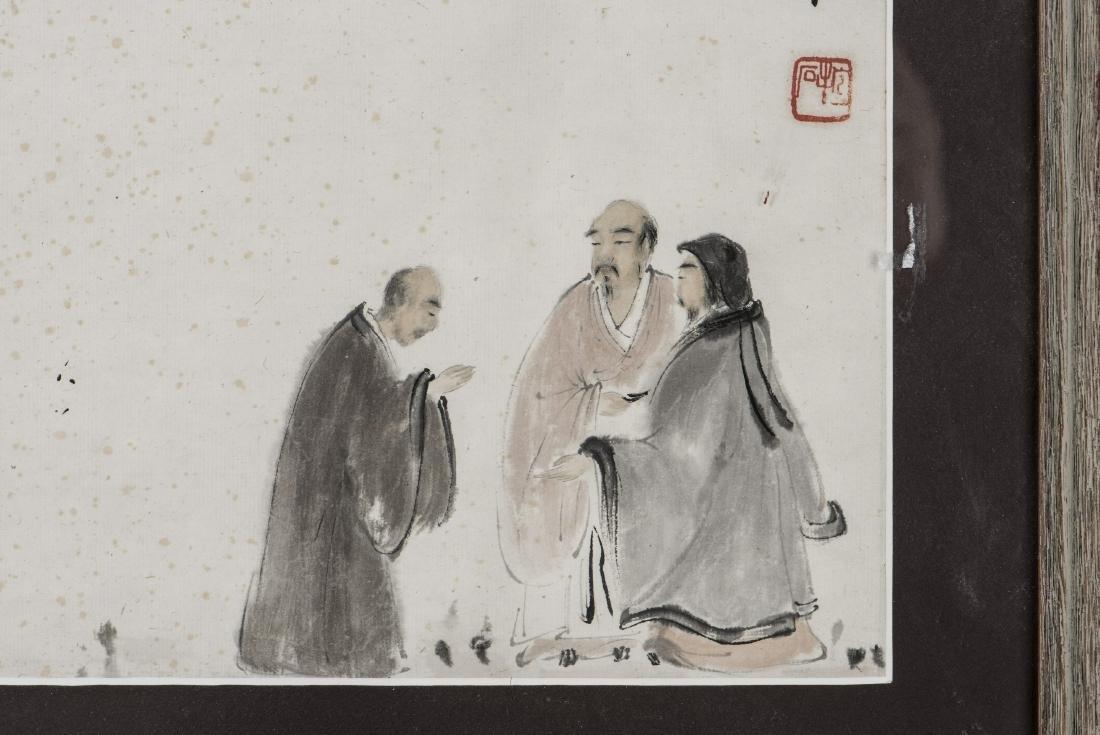FU BAOSHI (STYLE, 1904-1965), FIGURE - 2