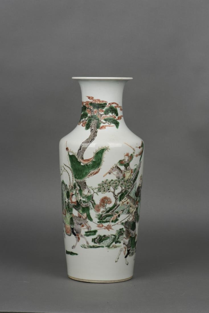 A DOUCAI 'FIGURAL' VASE, QING DYNASTY