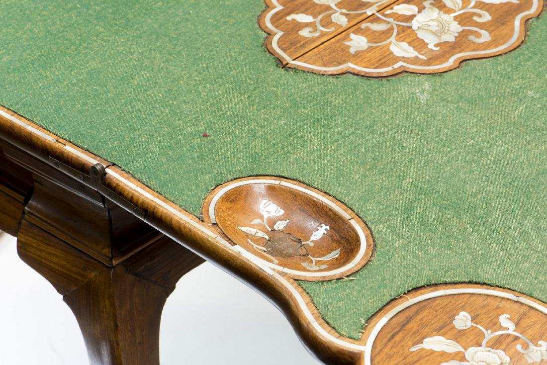 A PAIR OF HUANG HUALI CARD TABLES, 18TH CENTURY (Y) - 6