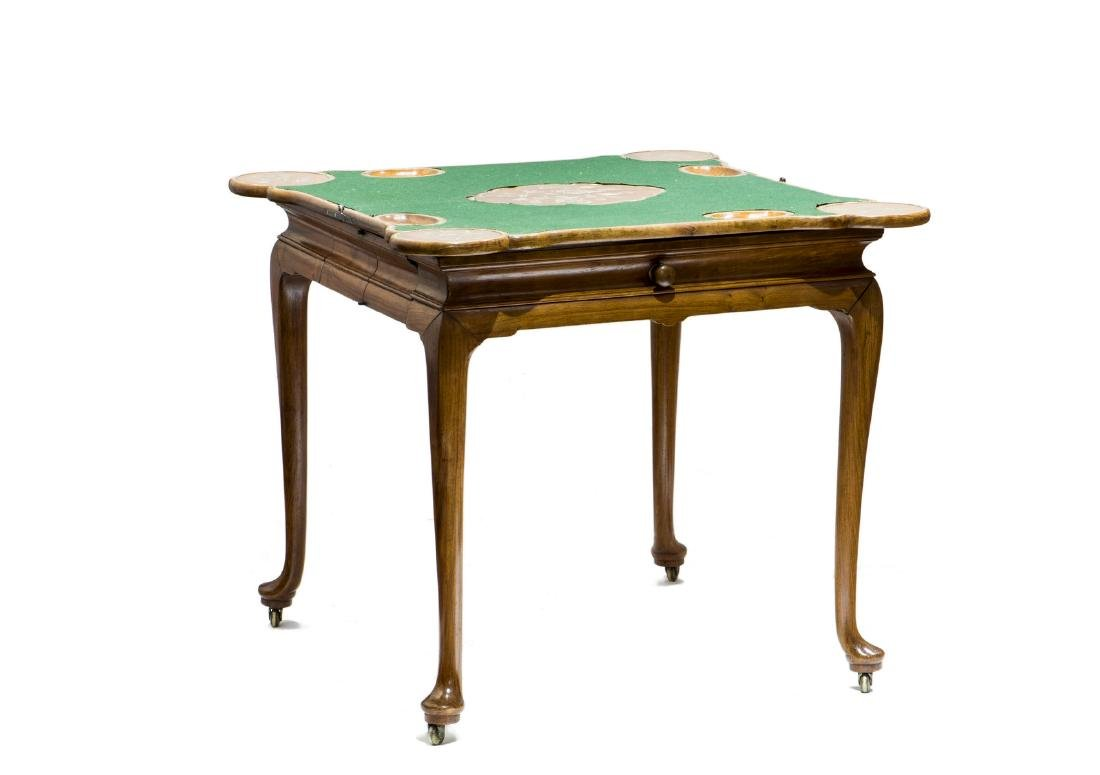 A PAIR OF HUANG HUALI CARD TABLES, 18TH CENTURY (Y) - 8