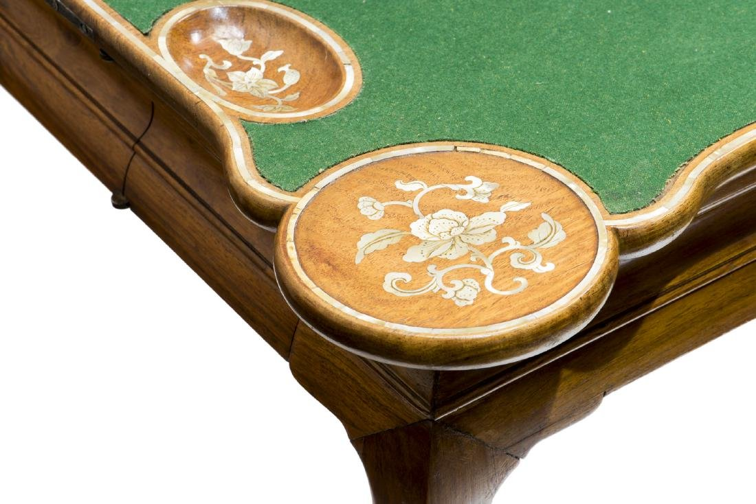A PAIR OF HUANG HUALI CARD TABLES, 18TH CENTURY (Y) - 9