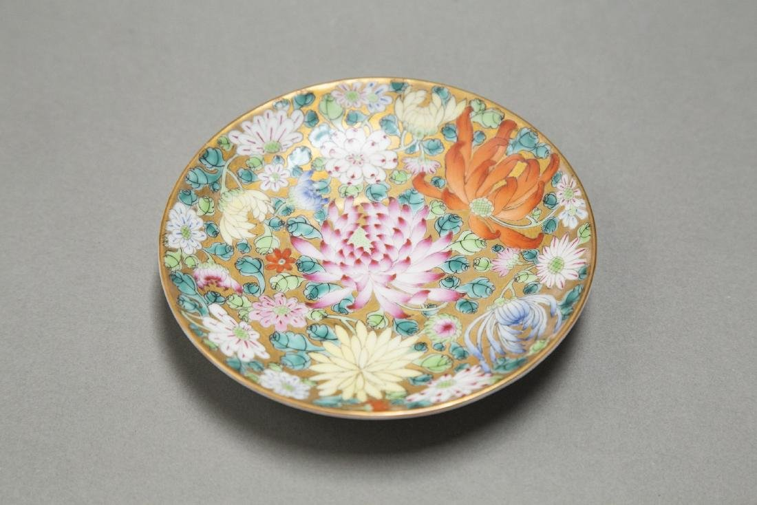 A CHINESE EXPORT FAMILLE ROSE DINNER SERVICE - 4