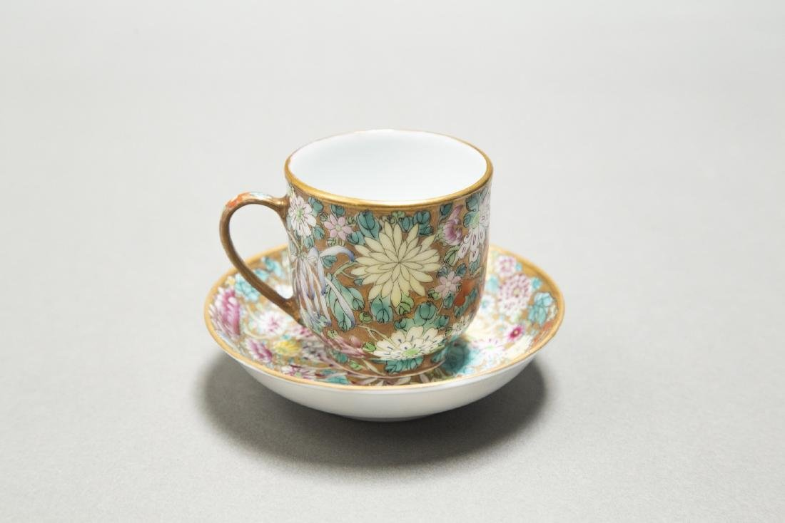 A CHINESE EXPORT FAMILLE ROSE DINNER SERVICE - 6