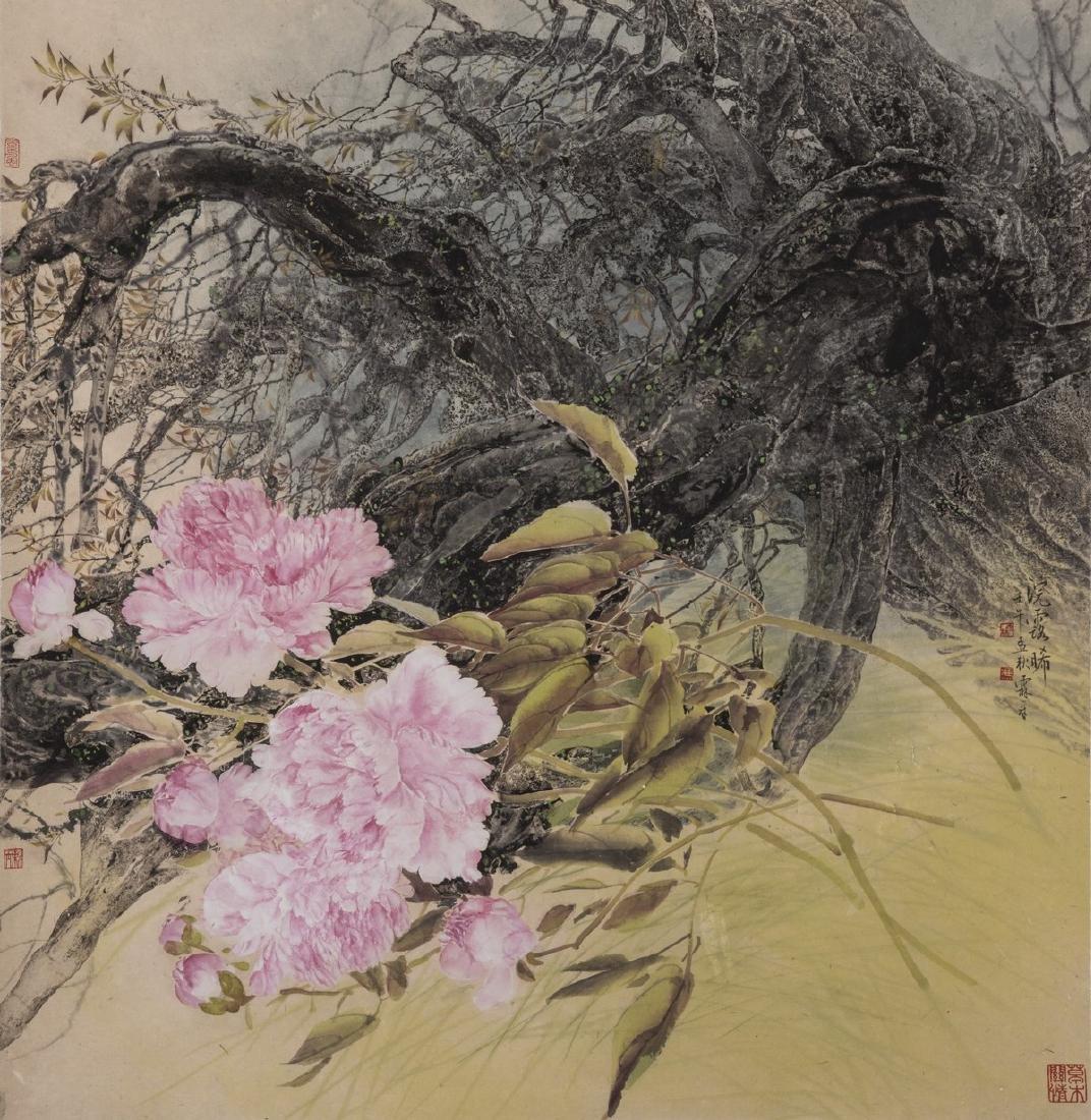 FENG LINZHANG (1943-), PEONY