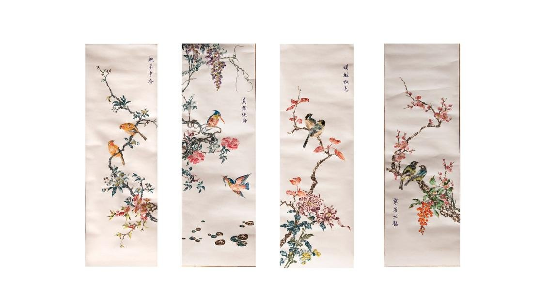 CHINESE PAINTING FOR STAMPS - 2