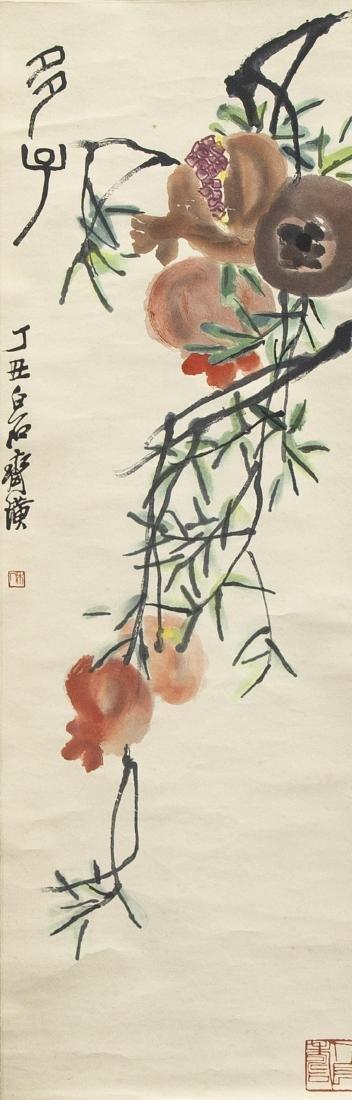 QI BAISHI & FIVE OTHER SCROLLS, SOME PRINTS - 7