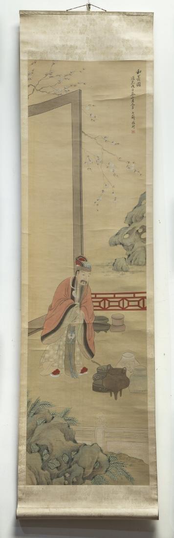 GAI QI (1773-1828), FIGURE - 4