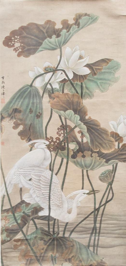 STYLE OF CHEN ZHIFO (1896-1962), HERON