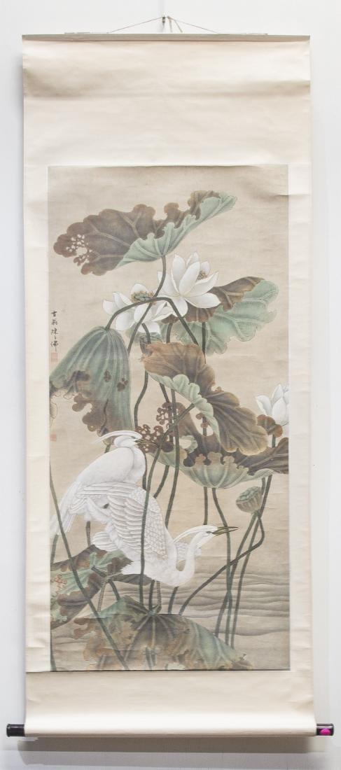 STYLE OF CHEN ZHIFO (1896-1962), HERON - 7