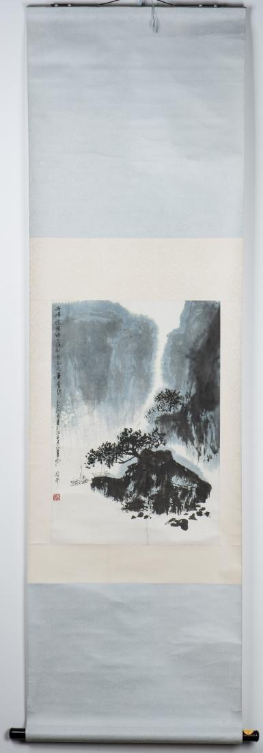 QING LINGYUN (1914-2008), LANDSCAPE - 3