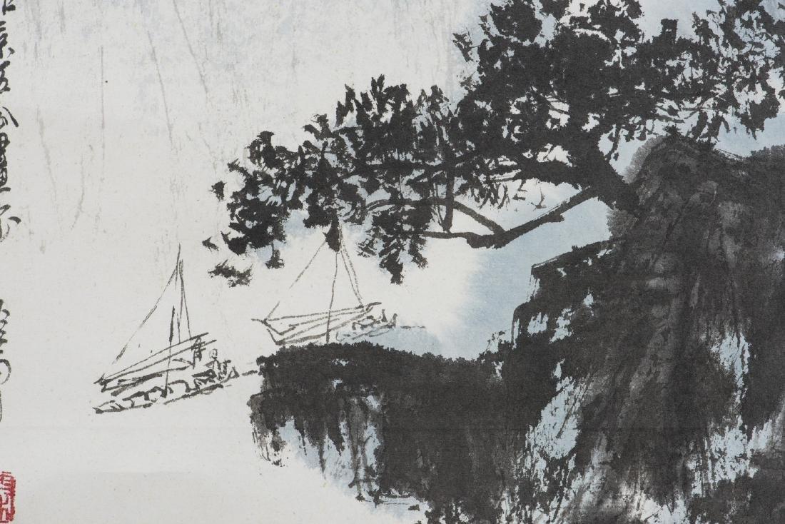 QING LINGYUN (1914-2008), LANDSCAPE - 4