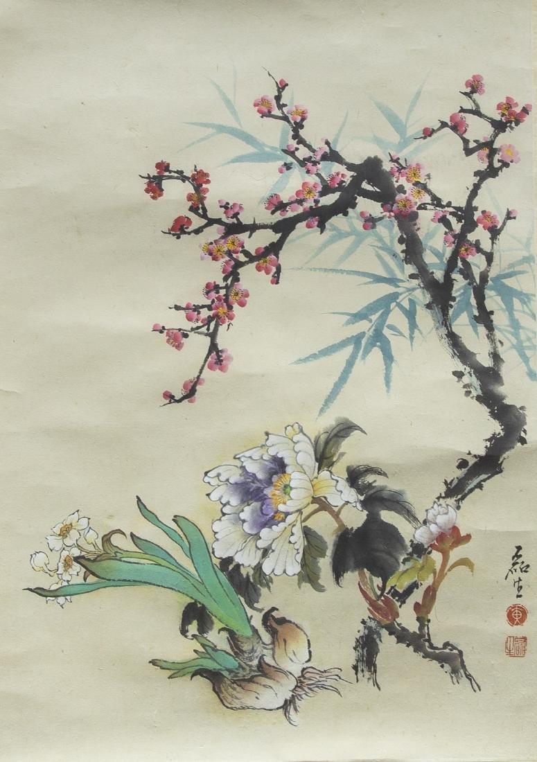 HUANG LEISHEN (1928-2011), FLOWER