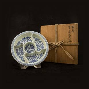 A DELFT BLUE WHITE CHINOISERIE MONTEITH WANLI PERIOD