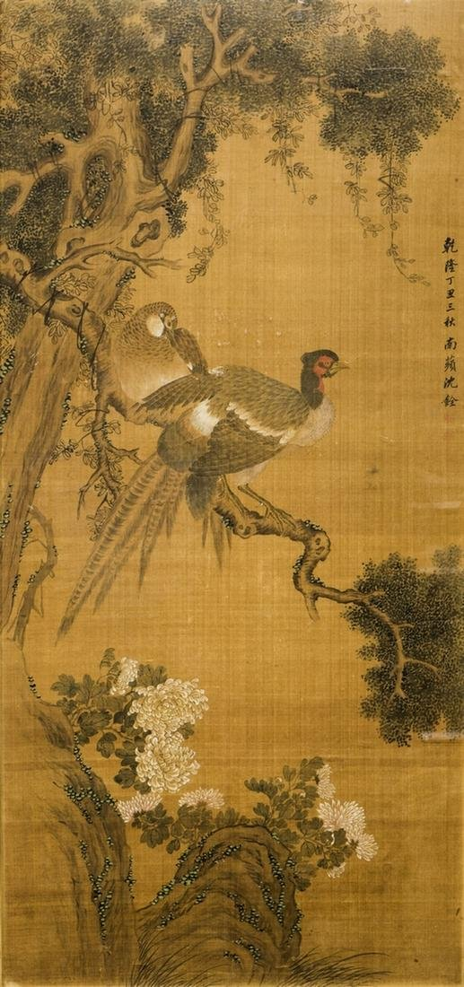 CHEN QUAN (ATTRIBUTED TO, 1682-1760), CHINESE PAINTING