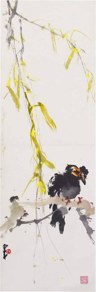 ZHAO SHAO'ANG (1905-1998), BIRD