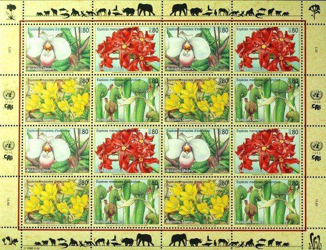 1996 Vereinte Nationen stamps
