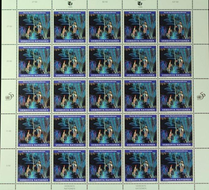 1995 Vereinte Nationen Stamps